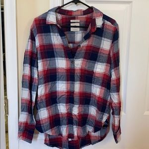 AE boyfriend fit flannel
